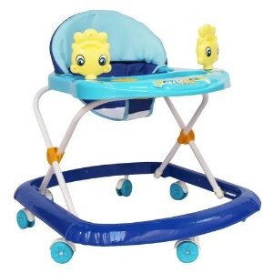 Andador Infantil Musical com Som Bebê Criança Menina Altura Regulável Importway BW062