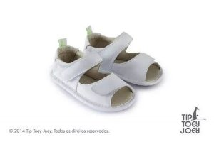 Sandália Tip Toey Joey Toey Toy White