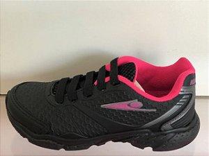 Tênis Klin Step Flex Preto/ Pink