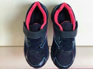 Tênis Klin Step Flex Marinho/ Pink