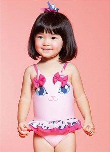 Maio Puket Kids 3d Gatinha