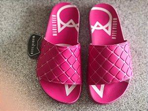 Sandália Kidy Magia Teen Slide Pink