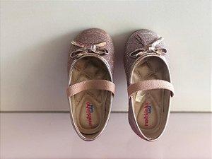 Sapato Casual Molekinha Bebê Multi Rosa