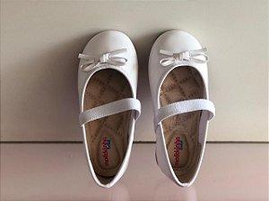 Sapato Casual Molekinha Bebê Branco