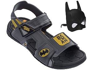 Sandália Grendene Liga Da Justiça Batman Com Máscara