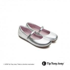 Sapatilha Tip Toey Joey Little Twirl Sterling Silver