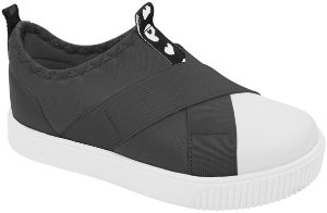 Tênis Pampili Luna - Slip On Preto