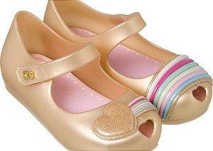 Sapatilha World Colors Confeti Kids - Dourado Perolado