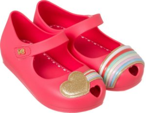 Sapatilha World Colors Confeti Kids - Coral