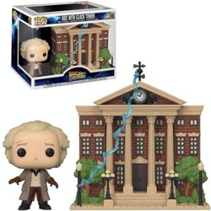 Funko Pop Town: Back To The Future - Doc With Clock Tower #15