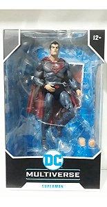 Action Figure: Dc Multiverse Superman (red Sun)