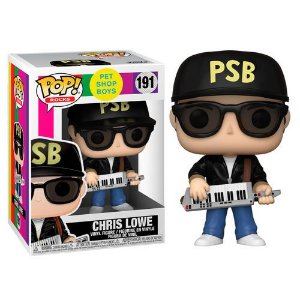 Funko Pop Rocks: Pet Shop Boys - Chris Lowe #191