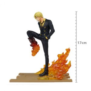 ACTION FIGURE: ONE PIECE - SANJI - LOG FILE SELECTION FIGHT