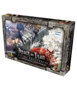 Board Game: Attack On Titan - Galápagos Jogos