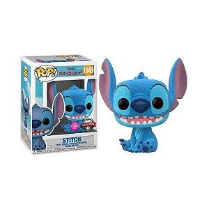 Funko Pop: Lilo & Stitch - Stitch #1045 Flocked