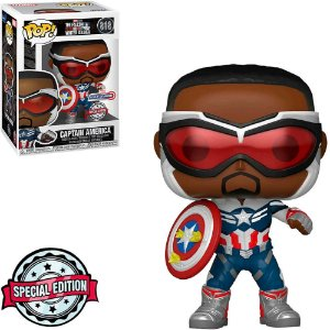 Funko Pop: The Falcon And The Winter Soldier - Captain America #818 (Special Edition)