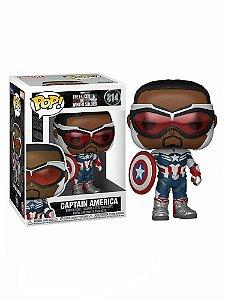 Funko Pop: The Falcon And The Winter Soldier - Captain America #814