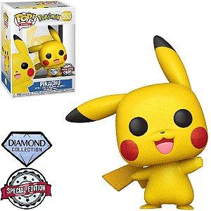 Funko Pop Games: Pokémon - Pikachu #553 (Diamond)(Special Edition)