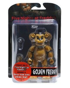 Action Figure: Five Night's At Freddy - Golden Freddy