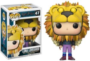 Funko Pop Harry Potter Luna Lovegood - w/ Lion Hat #47