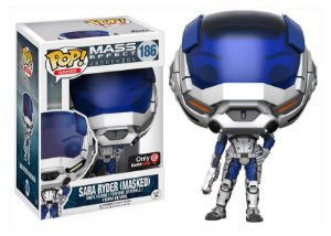 Funko Pop Mass Effect Sara Ryder Game Stop Exclusive # 186