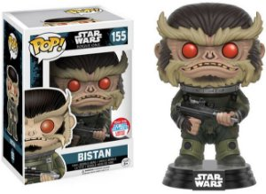 Funko Pop Star Wars Rogue One Bistan Exclusivo New York Comic Con #155
