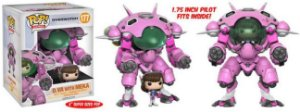 Funko Pop Overwatch D. Va with MEKA  #177