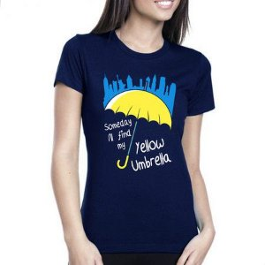 Camiseta Feminina How i met your Mother
