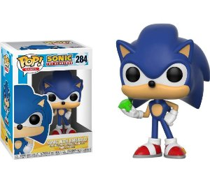 Funko Pop Games: Sonic with Emerald #284