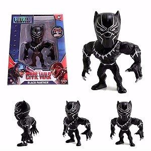Boneco Black Panther M47 - Capitão América Guerra Civil - Avengers - Metals Die Cast