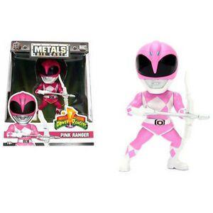 Boneco Pink Ranger M403 - Mighty Morphin Power Rangers - Metals Die Cast