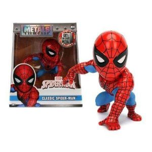 Boneco Classic Spider-Man M250 - Marvel Spider-Man - Metals Die Cast