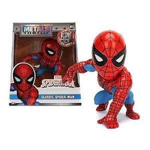 Boneco Classic Spider-Man M250 - Marvel Spider-Man - Metals Die Cast