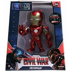 Boneco Iron Man M46 - Capitão América Guerra Civil - Avengers - Metals Die Cast