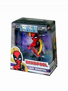Boneco Lady Deadpool M353 - Deadpool - Marvel - Metals Die Cast