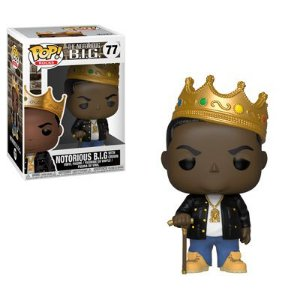 Funko Pop!  Notorious B.I.G. with Crown #77