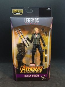 Black Widow Marvel Legends Series | Avengers Infinity War - Best of 2019 - Baf Monte o Thanos