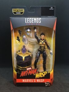 Wasp Marvel Legends Series | Avengers Infinity War - Best of 2019 - Baf Monte o Thanos