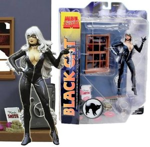 BLACK CAT - GATA NEGRA  MARVEL SELECT