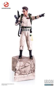 EGON SPENGLER-1/10 ART SCALE-GHOSTBUSTERS - IRON STUDIOS