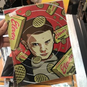 Eleven - Stranger Things - Placa Decorativa