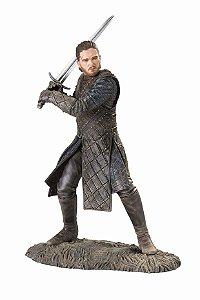 Estátua Dark Horse Deluxe Game of Thrones: Jon Snow King in The North Figure