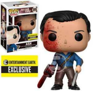 Funko Pop Ash vs. Evil Dead. Ash Exclusivo Entertainment Earth #395