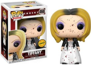 Funko Pop Bride of Chucky Tiffany Bloody - Exclusivo Chase #468