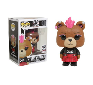 Funko Pop Build-a-Bear: Furry n' fierce #01