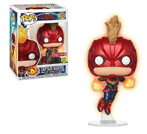 Funko Pop Captain Marvel (Flying) Exclusiva Target  Glows In The Dark#433