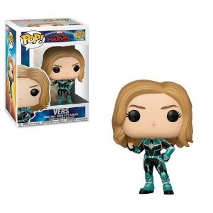 Funko Pop Captain Marvel Vers Capitã  #427