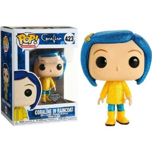 Funko Pop! Coraline in Raincoat  Diamond Exclusive #423