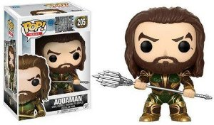 Funko Pop DC:  Justice League - Aquaman  #205