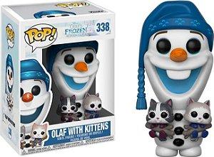 Funko Pop Disney Frozen Olaf - w/ Kittens #338